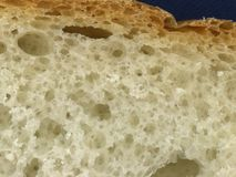 背景面包白色 库存照片