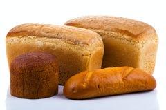 背景面包白色 免版税库存图片