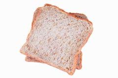 背景面包褐色查出的白色 免版税库存照片