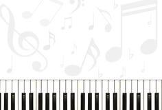 背景音乐 库存例证