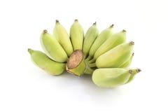 背景香蕉食物素食白色 免版税图库摄影