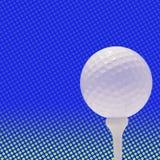 背景高尔夫球地点 免版税库存图片