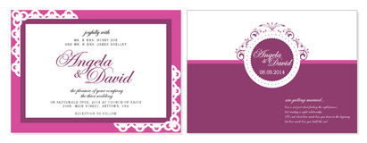 背景高雅重点邀请浪漫符号温暖的婚礼 免版税库存图片