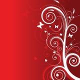 背景魔术红色空间文本结构树 图库摄影