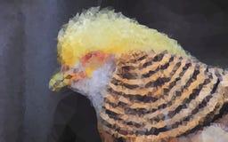 背景鸟幼稚无缝的纹理墙纸 库存图片