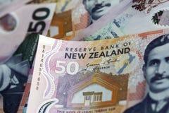 背景鸟硬币以蕨图标式的查出的猕猴桃为特色的货币美元离开货币新的银符号二白色西兰 免版税库存图片