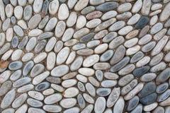 背景鹅卵石 库存图片