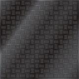 背景黑暗的金刚石舱口盖金属纹理 库存照片