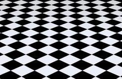 背景黑色方格的白色 库存照片