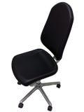 背景黑色椅子办公室白色 库存照片