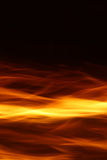 背景黑色火焰 库存图片