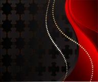 背景黑色珠宝 免版税图库摄影