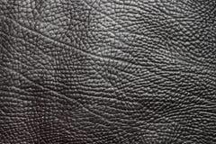 背景黑色皮革向量 免版税库存图片