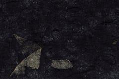 背景黑色空白手工制造秸杆 免版税库存图片