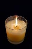 背景黑色蜡烛 库存图片