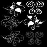 背景黑色设计要素 免版税图库摄影