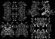 背景黑色设计要素 图库摄影