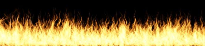 背景黑色详细资料火软绵绵地发火焰好高亮度显示垂直 包括复制空间 向量例证