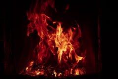 背景黑色详细资料火软绵绵地发火焰好高亮度显示垂直 图库摄影