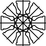 背景,五颜六色的抽象几何无缝的样式,传染媒介 库存图片