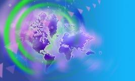 背景,地球 免版税库存图片