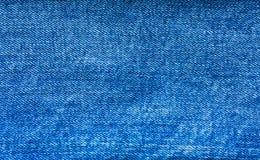背景,纹理牛仔布蓝色织品 库存图片