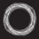 黑背景, circleas巢形状 库存照片