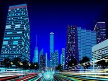 背景 城市 免版税库存照片