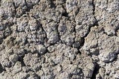 背景-无生命的盐土壤 图库摄影