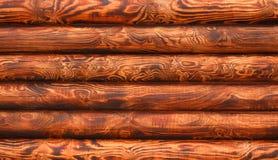 背景 木房子日志墙壁  免版税图库摄影