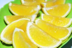背景水果罐头橙色片式他们使用您 库存照片