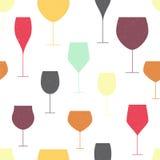 背景玻璃红葡萄酒 免版税图库摄影