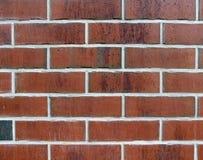 背景 红砖墙壁 库存图片