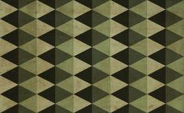 背景绿色三角 皇族释放例证