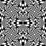 背景黑色几何白色 免版税库存照片