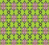 背景绿色样式无缝的纹理 库存照片
