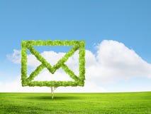 背景黑色概念尺寸电子邮件反映文本三 库存照片