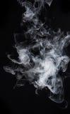 背景黑色烟 屏幕混合方式 免版税图库摄影
