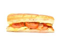 背景黑色瓶尾随热图象查出的番茄酱芥末 免版税库存图片