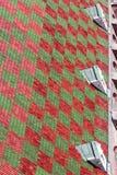 背景绿色红色 库存照片