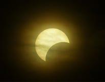 背景黑色设计太阳蚀的例证 库存图片