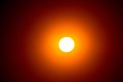 背景黑色设计太阳蚀的例证 免版税库存图片