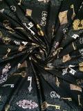 背景黑色织品 免版税库存图片