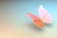 背景蝴蝶 免版税库存照片