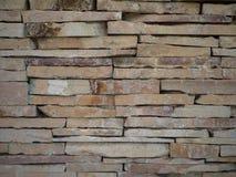 背景&被堆积的石墙 图库摄影