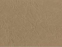 背景 被弄皱的棕色包装纸纹理技术对创造性的设计背景 被扭屈的卡拉服特 免版税图库摄影
