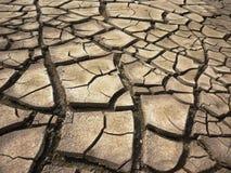 背景破裂的干燥地球 免版税库存照片