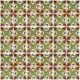 背景细部图花卉向量 陶瓷砖,博物馆Azulejo,里斯本 免版税库存图片