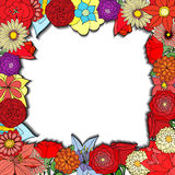 背景细部图花卉向量 皇族释放例证