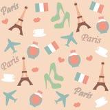 巴黎背景 免版税库存图片